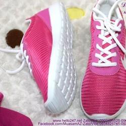 Giày thể thao nữ màu hồng trẻ trung GTU107