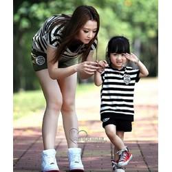Combo thể thao 2 trong 1 cho mẹ  bé 07026