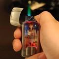 HỘP QUẸT GAS kiểu siêu xe hình girl có đèn led rất độc đáo