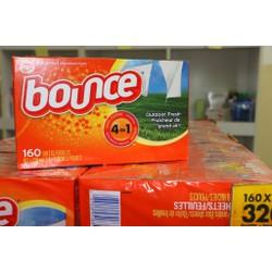 Giấy Thơm Quần Áo Bounce 4 In 1 160 Tờ Của Mỹ