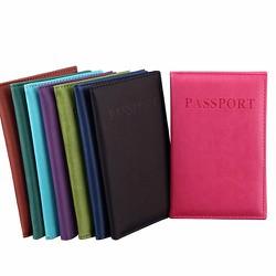 Ví passport kiểu dáng truyền thống đơn giản cho cả nam và nữ