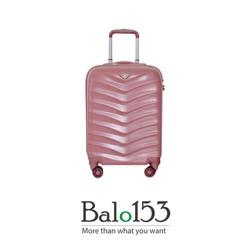Vali kéo bằng nhựa size 6 tấc Verage 15059 Hồng Iphone