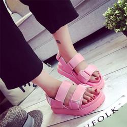 Giày Sandal nữ dễ thương màu sắc nổi bật phong cách Hàn Quốc - XS0307