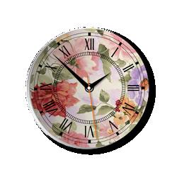 Đồng hồ gỗ tròn Tictac 03