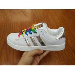 [Greenlife Shop] Giày Superstar màu bạc