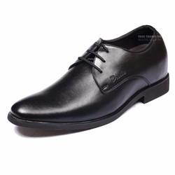 Giày da công sở, đế tăng chiều cao 6,5cm sang trọng