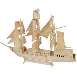 Bộ đồ chơi lắp ghép 3D hình thuyền xinh xắn