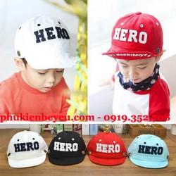 Nón bóng chày vải mềm HERO - N062