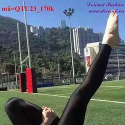 Quần legging tập thể thao thoải mái năng động sQTU23