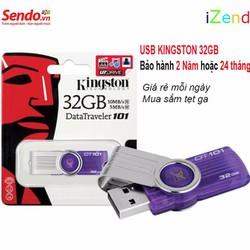 USB Kingston 32GB-tốc độ 2.0- Bảo hành 2 năm hoặc 24 tháng