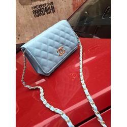 Túi đeo chéo xanh