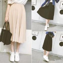 Chân váy xếp ly nữ thanh lịch Hàn Quốc