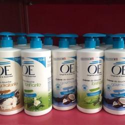 Sữa tắm dưỡng da organic OE Pháp