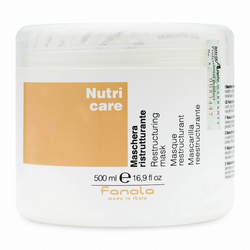 Hấp dầu Fanola Nutricare phục hồi tóc hư tổn 500ml