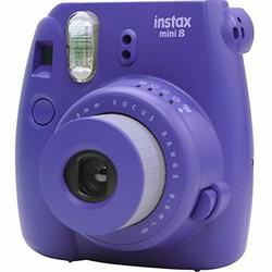 Máy chụp ảnh ra hình liền Instax Mini 8 màu tím Grape