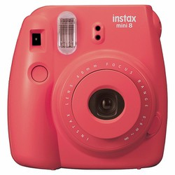 Máy chụp ảnh lấy ngay Instax Mini 8 màu đỏ Rasberry