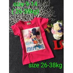 Đầm xẻ tà Minnie 26-38kg