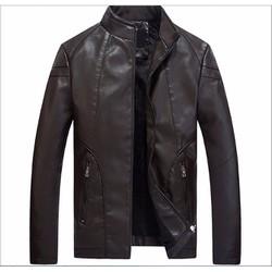 Áo khoác da thời trang nam cao cấp 2016 - HX601-1