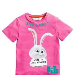 Áo thun thỏ Snowball BỘ SƯU TẬP ĐẲNG CẤP THÚ CƯNG