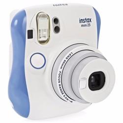 Máy chụp ảnh lấy ngay Instax mini 25 màu xanh blue Fujifilm