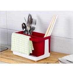 Khay đựng dụng cụ nhà bếp, dụng cụ cọ rửa đa năng