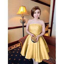 Đầm Dự Tiệc Cúp Ngực Công Chúa