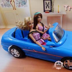 BB119-Xe hơi 4 chỗ sang trọng cho búp bê barbie