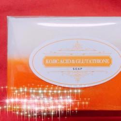 Xà phòng trắng da Kojic acid và Glutathione Soap