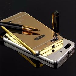 Huawei Honor 4C - Ốp tráng gương viền kim loại cho điện thoại