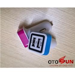 Tẩu sạc hai cổng USB