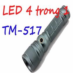 Đèn pin siêu sáng đa chức năng TM 517