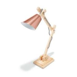 Đèn bàn khung gỗ