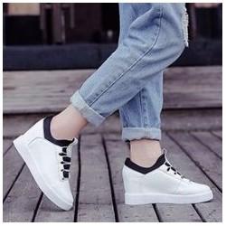 TT06T - Giày sneaker  nữ đế độn phong cách Hàn Quốc