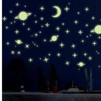 Trăng sao dạ quang nhỏ 2