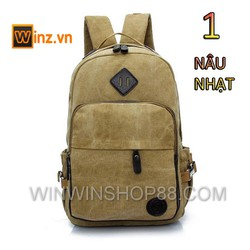 Balo nam Canvas thời trang giá rẻ đi học cung cấp bởi Winz.vn