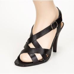 giày cao gót quai chéo cách điệu