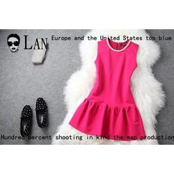 Đầm xòe thời trang đính cườm duyên ddp08173