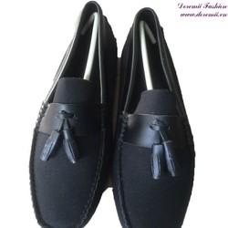 Giày mọi nam da lộn thắt nơ sành điệu GDNHK149