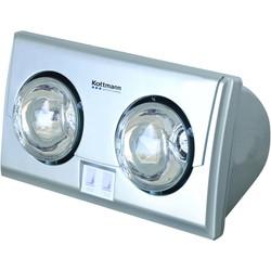 Đèn sưởi nhà tắm Kottmann 2 bóng bạc hồng ngoại K2B-S