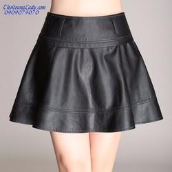 Váy ngắn da xòe V1213
