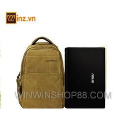 balo nam canvas thời trang dựng laptop giá rẻ  Winz.vn