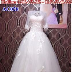 Áo cưới có tay AC028