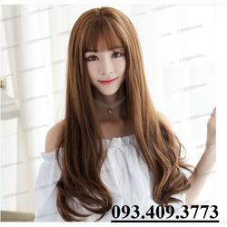 Tóc TƠ NHẬT  + Giả da đầu cao cấp -TG76