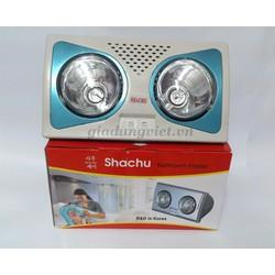 Đèn sưởi nhà tắm Shachu 2 bóng