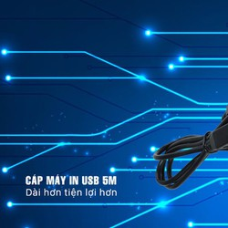 Cáp USB máy in 5M