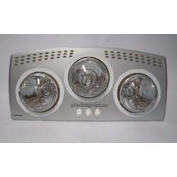 Đèn sưởi 3 bóng nhà tắm mã HE-3B176 hãng Heizen
