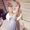 HÀNG CAO CẤP LOẠI I - Giày sandal cao gót đế vuông sang chảnh
