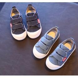 Giày trẻ em 2 quai dán bé trai