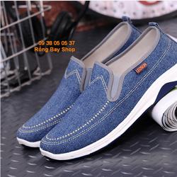 Giày slip on vải jean cực chất - GNA004