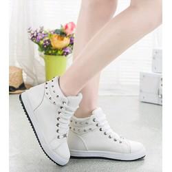 Giày Boot Nữ Phối Đinh G649
